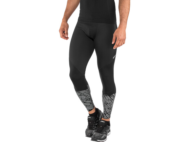 2XU Wind Defence Leggings de compression Homme, black/silver lightbeams reflec